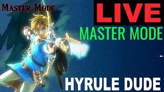 Welcome to my Legend of Zelda Breath of the Wild Stream! VIDEO STARTS AT 13:50 seconds. :/ sorry. I will be playing in Master Mode from the botw DLC pack 1.  Subscribe to see awesome animations pop up with your name LIVE on stream! Cheers and thank you!  All Donations From $1 and up will Show on screenhttps://youtube.streamlabs.com/hyruledude*no refunds*Gear Used to Make this Video:1) El Gato HD60 Game Capture Card - http://amzn.to/2sol0qB2) iMac 27 Inch Retina 5K - http://amzn.to/2rLf5up3) Blue Snowball - http://amzn.to/2s7glIVDISCLAIMER: This video and description has amazon affiliate links, and this means that if you click on one of the product links above which shows the gear I used to make this video with, I'll get a small commission. This helps support my channel and allows me to grow bigger and better and continue making the best game content I can! Thank you for the support in advance! Cheers!Check out some of my Zelda Breath of the Wild tutorials here:HOW TO FIND ANYTHING IN BREATH OF THE WILD:https://www.youtube.com/playlist?list=PLTeo8k1SzTr16dLY162pK9Yd0FTzpv4-GHOW TO MAKE TONS OF RUPEES IN BREATH OF THE WILD:https://www.youtube.com/playlist?list=PLTeo8k1SzTr2LpjJgHTRfkWNpWu4Fbqwh