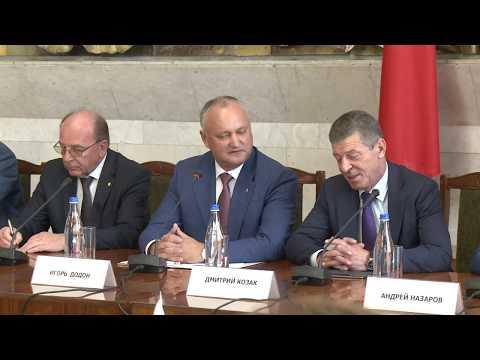 Președintele Republicii Moldova a participat la ședința Consiliului Economic Moldo-Rus