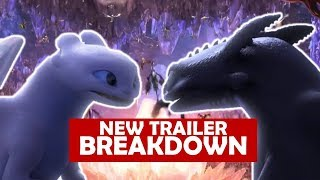 Video NEW HOW TO TRAIN YOUR DRAGON 3 TRAILER BREAKDOWN [ Goodbye Toothless? ] MP3, 3GP, MP4, WEBM, AVI, FLV Desember 2018