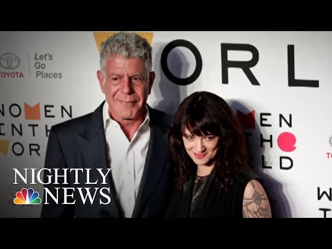 Actress Asia Argento Accused Of Sexual Assault, Agrees To Pay Accuser | NBC Nightly News (видео)