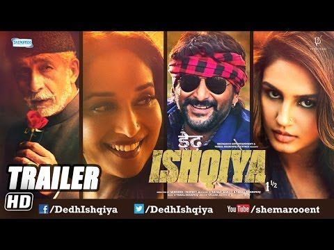 Dedh Ishqiya - First Look Trailer
