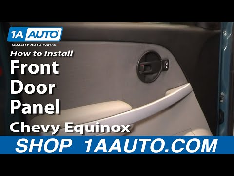 How To Install Replace Front Door Panel Chevy Equinox 05-09 1AAuto.com