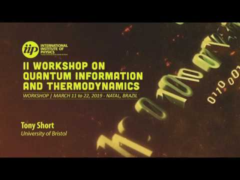 Quantum resources in continuous variable quantum systems - Tony Short