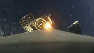 First-stage rocket landing onboard camera