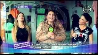 Sandra Arana vs. Vanessa Jerí: Así fue el candente encuentro...