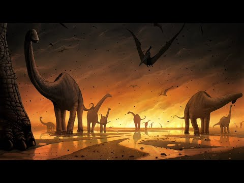The Last Day of The Dinosaurs (sad)