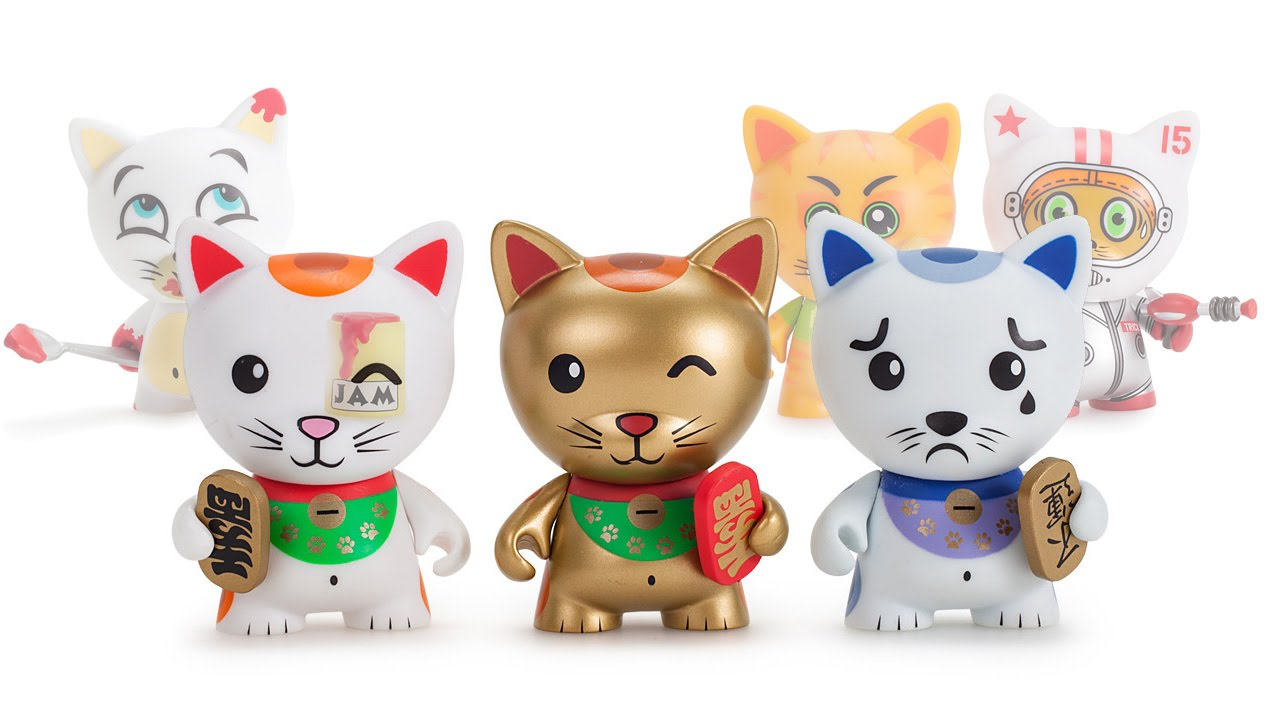 TRICKY CATS – Blind Boxes Opening