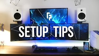Video 5 Tips to Improve Your Desk / Gaming Setup MP3, 3GP, MP4, WEBM, AVI, FLV Agustus 2018