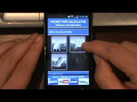 Video of Pipe Fitter Calculator
