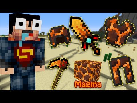 If Magma Tools Existed - Minecraft (видео)