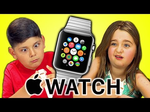 Kids react to Apple Watch