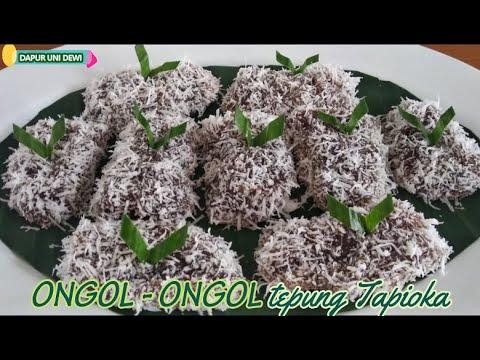 Cemilan Tradisional || ONGOL ONGOL || KALAMAI GEGEK || Tepung Tapioka by @ DAPUR UNI DEWI