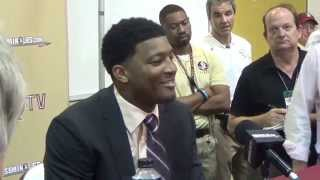 Jameis Winston after Florida State beat Notre Dame