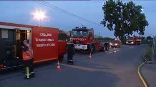 Trignac France  city photos : Trignac : une partie du dépôt Véolia part en fumée