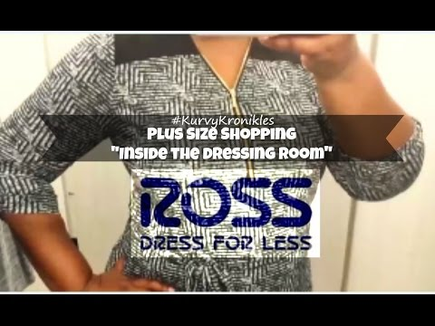 👗Plus Size Shopping for the Office @ Ross👗 Inside the Dressing Room