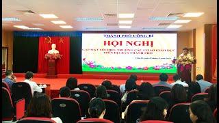 TP Uông Bí: gặp mặt hiệu trưởng các cơ sở giáo dục