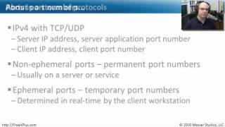 Common Ports - Part 1 of 2 - CompTIA A+ 220-701: 4.1