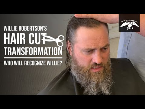 Willie Robertson's Hair Cut Transformation and Family Reactions