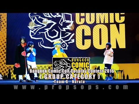 Bangkok Comic Con 2016 Cosplay Contest – Team 6 | Naruto