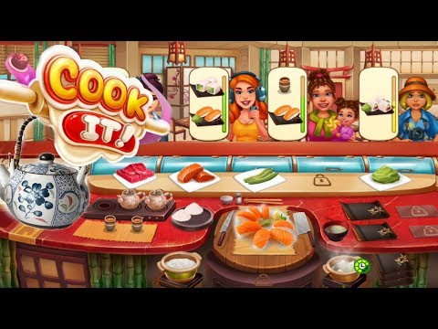 Cook It/Sushi Restaurant- New Things/Levels 132, 133, 135, 138/ Part 5