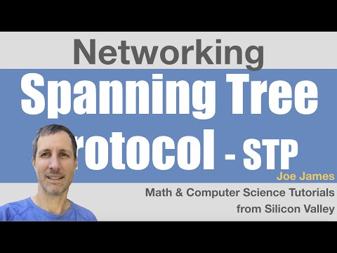 Networking: Spanning Tree Protocol Algorithm Tutorial