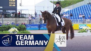 Isabell Werth and Germany take gold in Dressage | FEI World Equestrian Games 2018