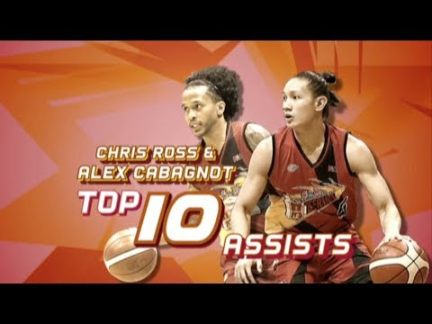 PBA Top 10 Assists: Alex Cabagnot and Chris Ross