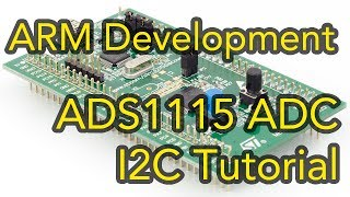 Contribute to the channel:https://www.patreon.com/EE_Enthusiast In the second tutorial on ARM Development, we are looking at an I2C implementation which allows us to connect to the ADS1115 Integrated Circuit from Texas Instruments. The processor we will be using is still the STM32 Discovery with a Cortex-M0 Core. The ARM Development board will be programmed using STM32 Keil as well as STM32CubeMX environments. I will be walking you through the full I2C Implementation through the HAL library and showing you every single bit I will be writing to and from the processor. Lastly, I wanted to call out that the ADS1115 is just as easy to work with on the Raspberry pi and the Arduino; you are absolutely free to re-use the code for any of those boards. Get in touch:Facebook: https://www.facebook.com/EEEnthusiastTwitter: https://twitter.com/EE_EnthusiastWebsite: http://eeenthusiast.comGitHub: https://github.com/VRomanov89Personal website: http://vladromanov.com Software:https://github.com/VRomanov89/EEEnthusiast/tree/master/05.%20ARM%20Tutorials/02.%20ADS1115%20I2C%20Tutorial Relevant Search Terms:EEEnthusiast, Vlad Romanov, Volodymyr Romanov, stm32 tutorial, stm32 keil, stm32 keil tutorial, stm32 keil examples, arm development, arm development board, arm development tutorial, stm32 i2c hal example, stm32 i2c tutorial, stm32 i2c example code, stm32 discovery tutorial, arm cortex m0 tutorial, arm cortex m0 programming, arm programming, ads1115 arduino tutorial, ads1115 tutorial, ads1115 raspberry pi c code