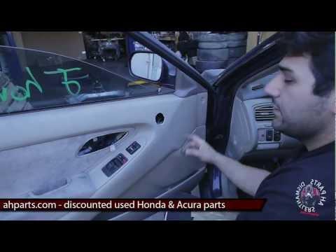 on 2001 Honda Accord V6 Fuel Filter
