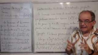 Algebra Intermedia - Lección 22 - A (factorización Posible De La Suma De Cuadrados Perfectos)