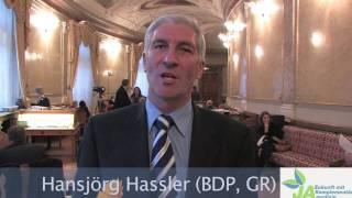 (rumantsch) Hansjörg Hassler empfiehlt Ihnen am 17. Mai 2009 ein Ja zur Komplementärmedizin.