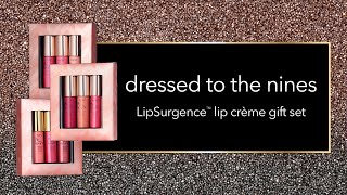 swatch: dressed to the nines LipSurgence� lip cr�me gift set
