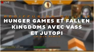 Video GRTV - Fallen Kingdoms et Hunger Games Event - Partie 1 MP3, 3GP, MP4, WEBM, AVI, FLV Juni 2017