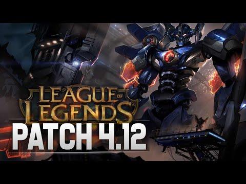 Patch 4.12 - Mecha Skins for Malphite and Aatrox! - League of Legends (видео)