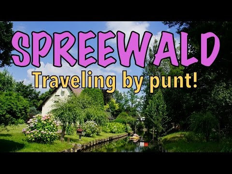 VIDEO: Punting in Spreewald #JoinGermanTradition