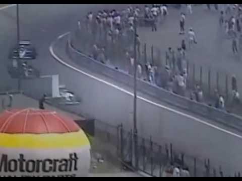 gp detroit 1986 - ayrton senna vs nigel mansell