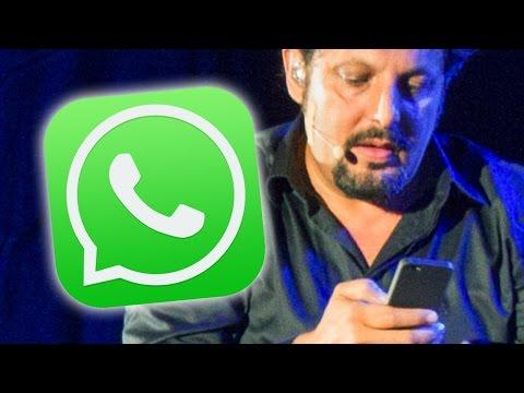 enrico brignano monologo divertente su whatsapp, da vedere!