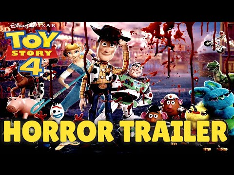 Toy Story 4 Recut as a Horror (Official Horror Trailer)