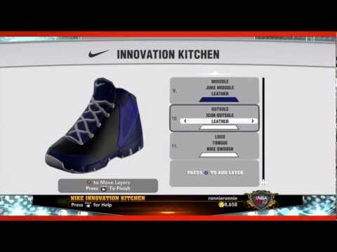 0 NBA 2K13 Shoe Creator