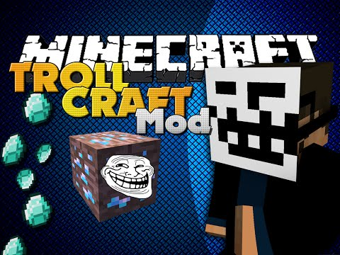 Minecraft Mod – TROLLCRAFT MOD – ITEMS TO TROLL FRIENDS