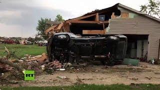 Mortal tornado azota el noroeste de Ohio dejando un fallecido, heridos y daños materiales