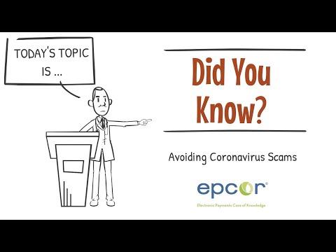Avoiding Coronavirus Scams