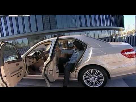Mercedes-Benz E-class Тест Mercedes-Benz E-212