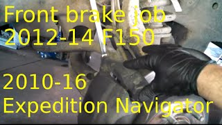Nonton Front brake pad replacement 2012 - 1014 Ford F150 Install front brake pads Film Subtitle Indonesia Streaming Movie Download