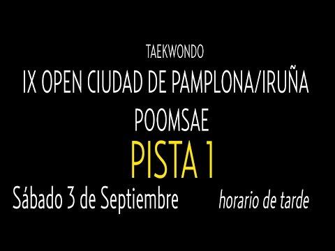 Open Internacional Pamplona. Sabado Pista 1
