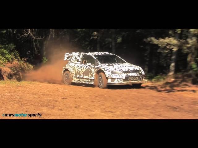 Testes Vw Polo WRC 2017