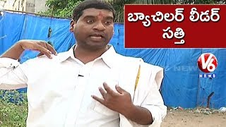 bithiri sathi as politician
