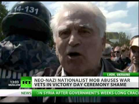 Neonacistička rulja napala ratne veterane u Ukrajini