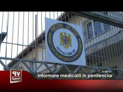 Informare medicală în penitenciar