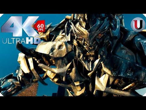 Transformers 2007 Optimus Prime vs  Megatron Final Battle Part 3 Movie Clip Blu ray HD